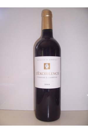 """Château Lamartine Castillon Côtes de Bordeaux  """"L'excellence"""" 2014"""