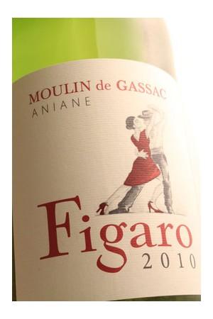"Moulin de Gassac ""Figaro"" IGP Pays d'Hérault Blanc 2010"